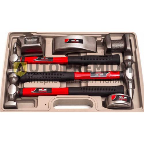 Набор рихтовочный 7 предметов «Сервис ключ» 70638.