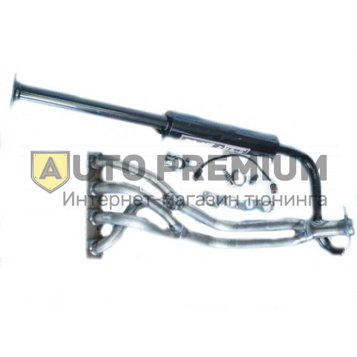 Выпускной комплект ВАЗ 2110-11-12 8v 1,5л с глушителем